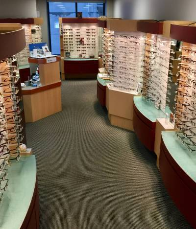 Selection of Eyeglasses in Yorkville, Toronto